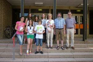 Remise de prix à l'Ecole Fondamentale d'Echternach